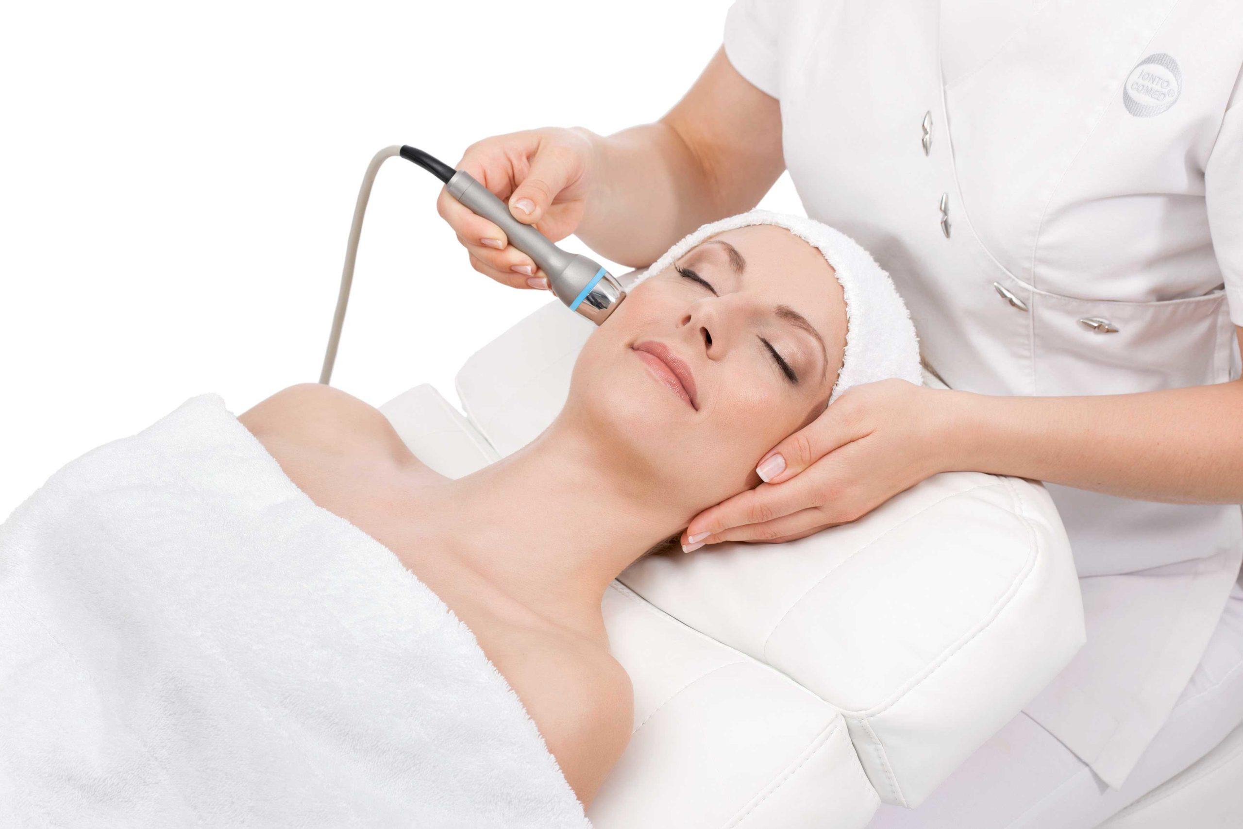 Ultraschall Gesichtsbehandlung